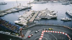 Enjoying the delights of the Monaco Grand Prix